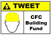 CFC Building Fund _ Sign created by Michelle Messina