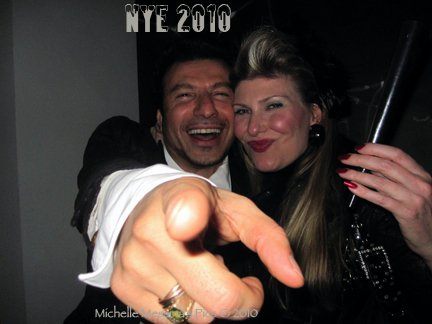 Jie Mattar & Michelle Messina New Year's Eve 2010