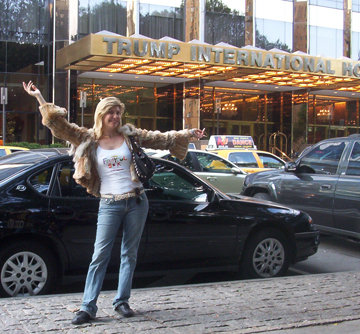 Michelle Messina Stopping Traffic New York!!! Fashion Week