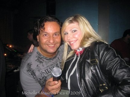 Michelle Messina and Tony Mon