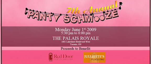 Panty Smooz Fundraiser for Red Door Women's Shelter