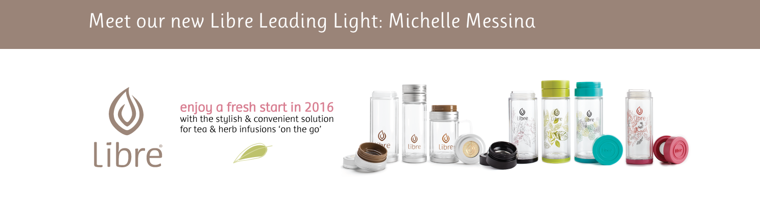 Michelle Messina Leading Light for Libre Tea
