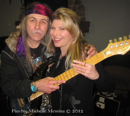 Uli Roth Guitar Legend and Michelle Messina Film Director