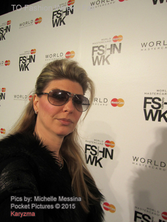 Michelle Messina Media at WorldWide MasterCard Fashion Week 2015 Toronto