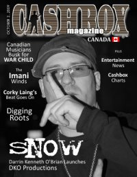 Snow Cover of Magazine October 2009